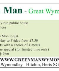 The Green Man Wymondley